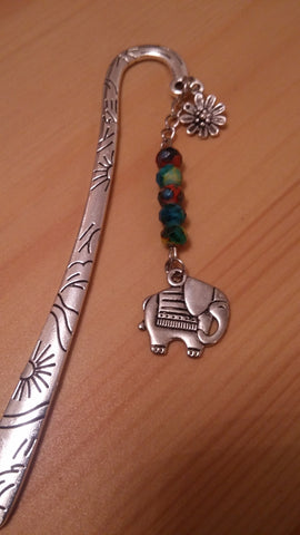 Elephant Chrome Bookmark