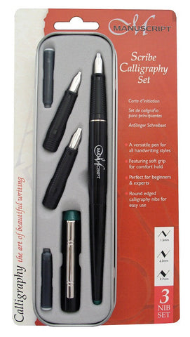 MANUSCRIPT SCRIBE CALLIGRAPHY - SET OF 3