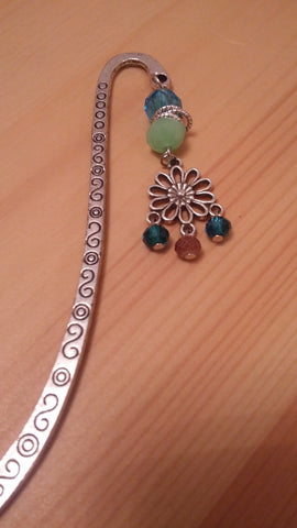 Flower Chrome Bookmark