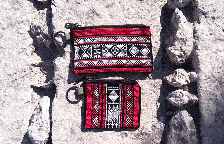 Embroidered Bedouin Wallet