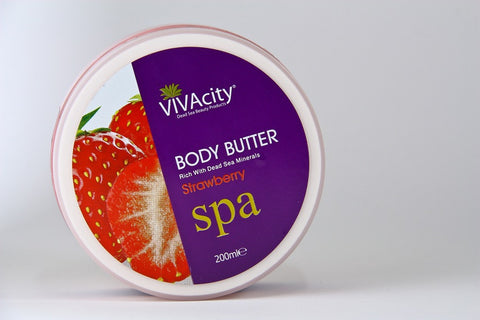MINERAL BODY BUTTER (STRAWBERRY)