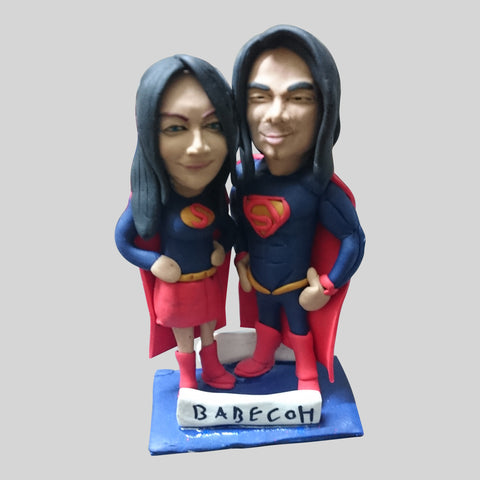 COUPLE FIGURINE - Original Mini Me of Yourself, Friends or Loved Ones!