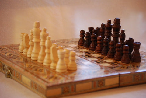 CHESS SET - WOODEN