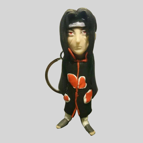 KEYCHAIN - Hand Sculpted 3D Figurine - ITACHI (Naruto)