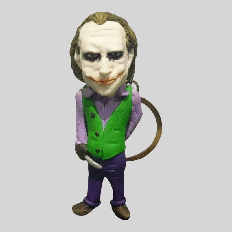 KEYCHAIN - Hand Sculpted 3D Figurine - THE JOKER