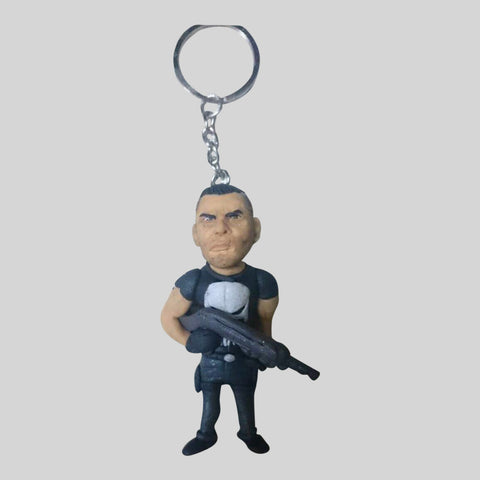 KEYCHAIN - Hand Sculpted 3D Figurine - THE PUNISHER
