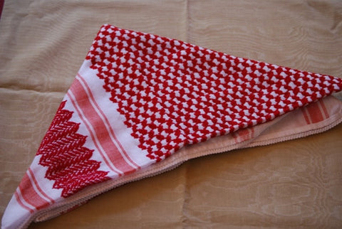 SHEMAGH (RED & WHITE)