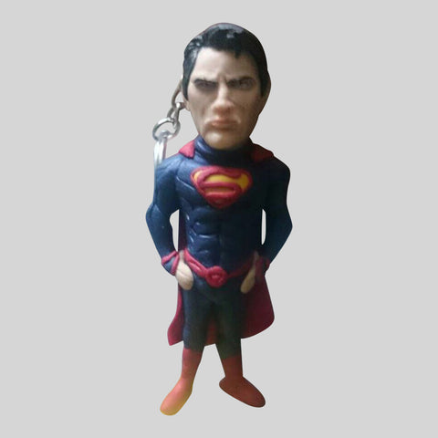 KEYCHAIN - Hand Sculpted 3D Figurine - SUPERMAN