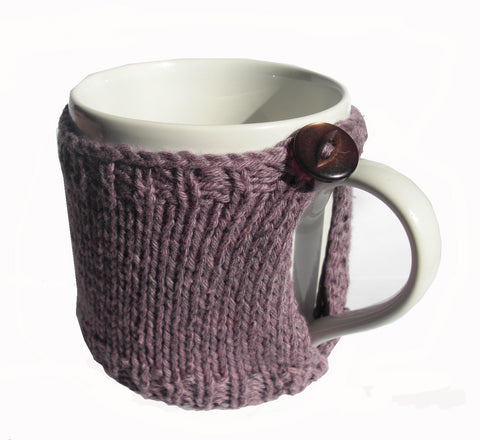Hand Knitted Mug Cover