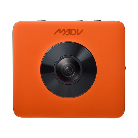 Madventure 360 Camera, 4K Video, 24MP Photo, Waterproof, Selfie-Stick and Tripod Included - 360 Cameras - MADV Technology - PANEZA