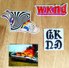 Brand New Stickers in from WDND Skateboards