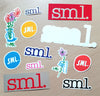 Small Wheels (SML.) Stickers new in.