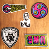 New Official Santa Monica Airlines / SMA Skateboard Stickers Just Added!