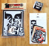 Obey Sticker Packs and Keyrings New In