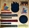 Brand New Spitfire Stickers and an Air Freshener just added