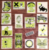 Toxic Wasters Stickers from Crossfire Zine