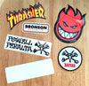 Skate Stickers back in from Thrasher, Bronson, Spitfire and Powell