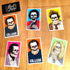 Girl x Sean Cliver Skull of Fame Sticker Pack - 5 Stickers