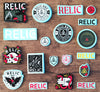 Relic BMX Stickers Just Added!