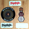 New Spitfire X Quarternacks Stickers plus Birdhouse Blood Logos