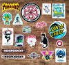 Stickers back in from Thrasher, Santa Cruz, Powell Peralta and more