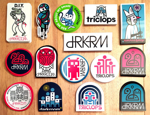 Brand New Stickers from dRKRM / Darkroom