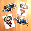 Brand New Stickers from Razortailed - Blaze & Destroy and McChill
