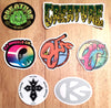 Brand New Skate Stickers from Creature, OJ Wheels and Grind King