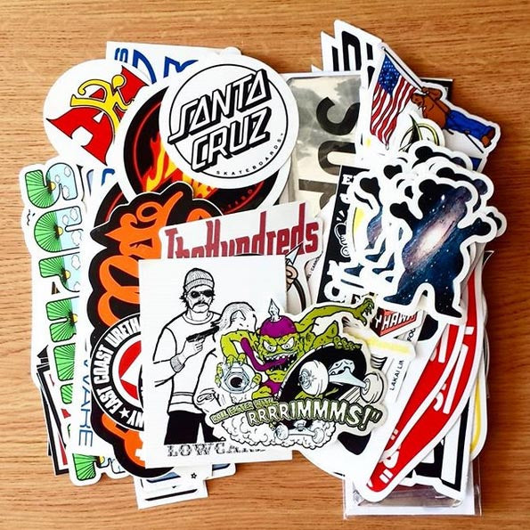 Lots of Skate Stickers just added!