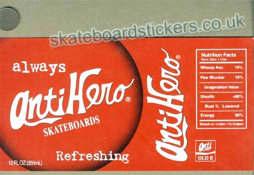 Antihero Skateboards Skateboard Sticker