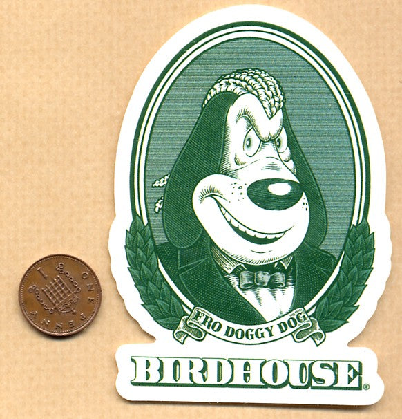 Birdhouse - Fro Doggy Dog Skateboard Sticker