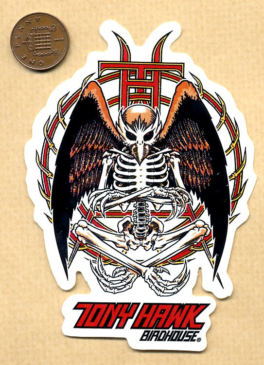 Birdhouse - Tony Hawk Skateboard Sticker