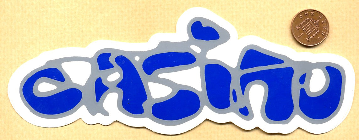 Casino Skate Shop Skateboard Sticker