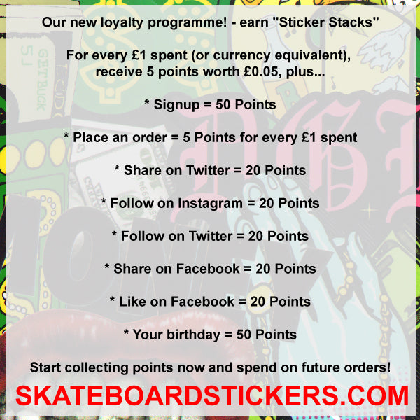 Our new loyalty programme! - earn