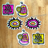 Official New Deal Reissue Skateboard Stickers New In