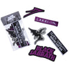 Lakai X Black Sabbath Patch Set - 5 patches
