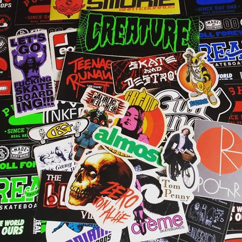 More Skate Stickers just added to SkateboardStickers.com