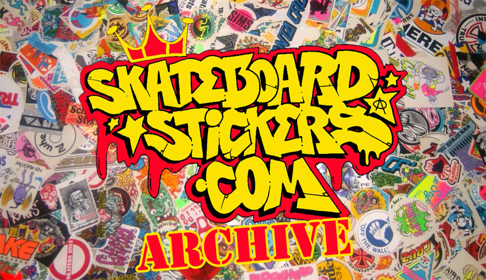 Skateboard Stickers Archive