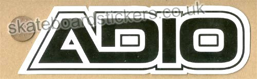 Adio Skateboard Sticker