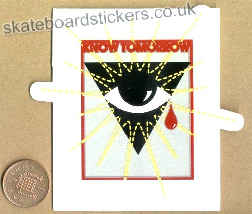 Alien Workshop - Know Tomorrow Skateboard Sticker