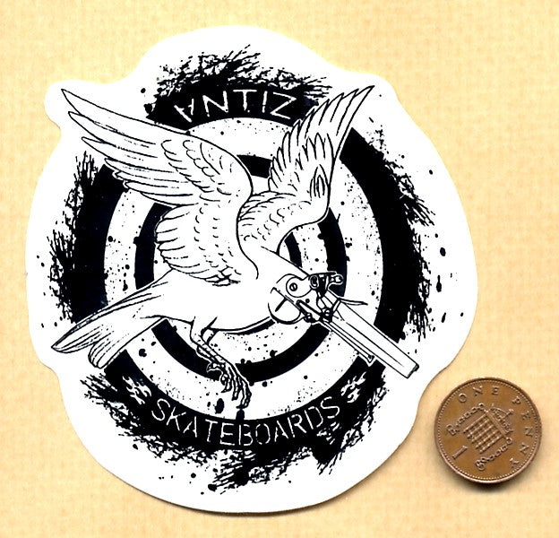 Antiz Skateboard Sticker