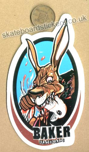 Baker Skateboard Sticker