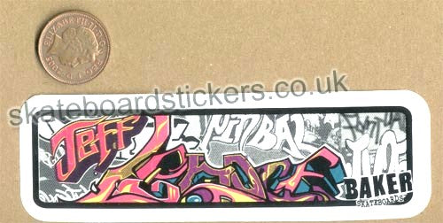 Baker - Jeff Lenoce Skateboard Sticker