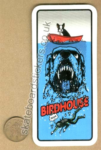 Birdhouse Skateboard Sticker