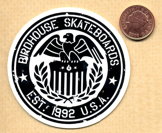 Birdhouse - Est: 1992 Skateboard Sticker