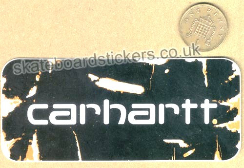 Carhartt Skateboard Sticker