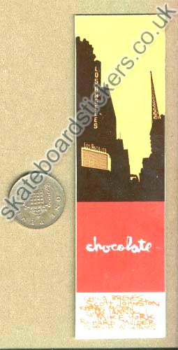 Chocolate Skateboards Skateboard Sticker