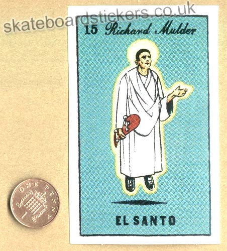 Chocolate Skateboards - Richard Mulder / El Santo Skateboard Sticker