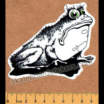 101 - Toad Skateboard Sticker