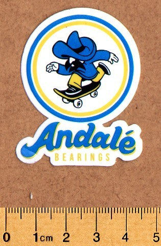 Andale Skateboard Sticker - DEFECTED - PLEASE READ